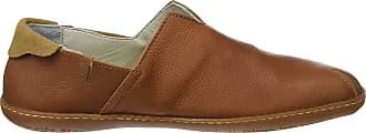 El Naturalista Unisex Adults N275 Soft Grain El Viajero Slip On Trainers, Brown (Cuero), 10 UK