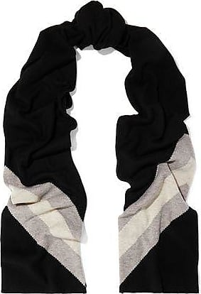 a45be65dcfb57 Madeleine Thompson Madeleine Thompson Woman Gunther Striped Wool And  Cashmere-blend Scarf Black Size
