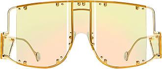 Fenty Puma by Rihanna Óculos de sol máscara Blockt - Dourado