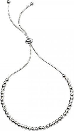 Acotis Limited Beginnings Sterling Silver B4927 Polished Ball Adjst Toggle Bracelet