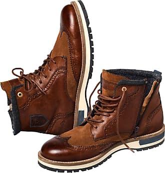 Pantofola D'oro Herren Budapester-Boot Tocchetto braun 41, 42, 43, 44, 45, 46, 47