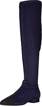 Ivanka Trump Womens Alie Over The Over The Knee Boot, Blue, 7 Medium US