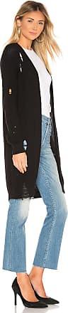 One Grey Day Wyatt Distressed Cardigan in Black