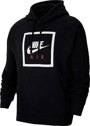 Nike NSW Air 5 Hoodie Herren in black-white, Größe XL