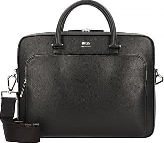 4f491688bfb HUGO BOSS Signature Slim Mallette cuir 35 cm