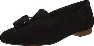 Office Womens Retro Loafers, Black (Black Suede), 4 UK 37 EU