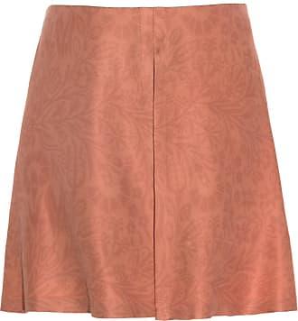 The Crocale Tulip Silk Shorts Blush