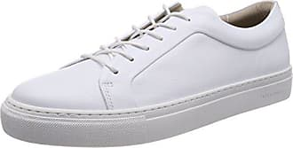 3e0837fd5ec3 Jack   Jones Jfwsputnik Leather White Sneakers Basses Homme