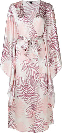 Gilda & Pearl floral embroidered night-gown - Neutro