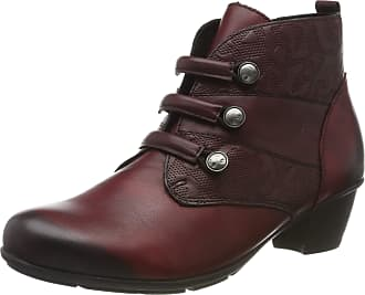 Remonte Womens R7577 Ankle Boots, Red (Vino/Vino 35), 6.5 UK