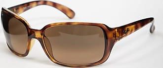 Ray-Ban Rechteckige Sonnenbrille in Schildplatt-Optik, ORB4068-Braun