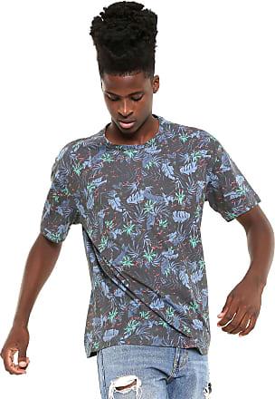 Globe Camiseta Globe Tropical Preta/Azul