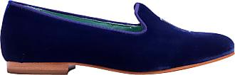 Blue Bird Loafer Yes I Do de Veludo Azul - Mulher - 39 BR