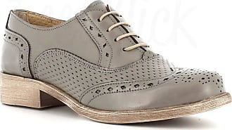 Generico Generic Made in Italy English Stringed Leather - Grey Grey Size: 4 UK