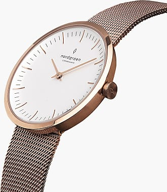 Nordgreen Infinity - Rose Gold | Rose Gold Mesh - 32mm / Rose Gold
