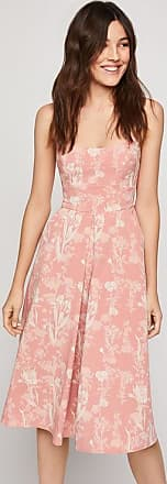 BCBGeneration Strappy Floral Midi Dress