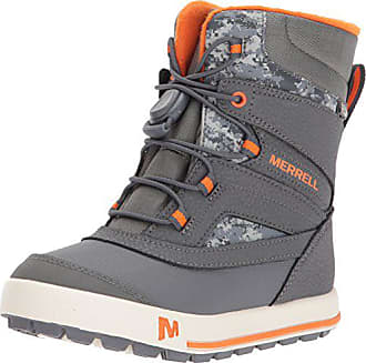 1ed1340b6d76 Merrell Boys Snow Bank 2.0 Waterproof Ankle Boots