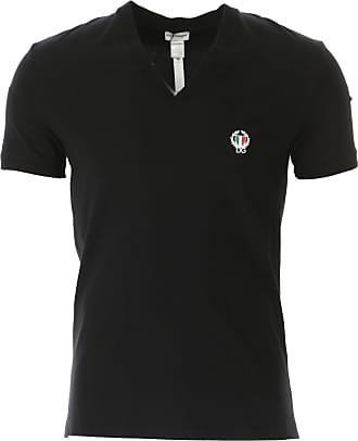 Dolce & Gabbana T-Shirt for Men On Sale, Black, Cotton, 2019, M (IT 4)