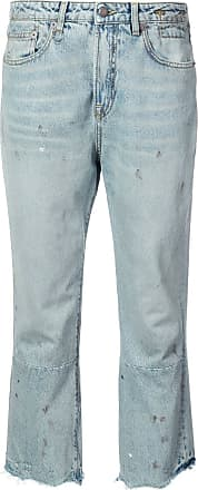 R13 cropped jeans - Blue