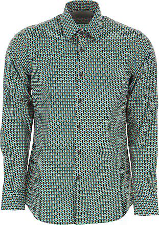2ef779ae0f Prada Camicia Uomo On Sale, Nero, Cotone, 2017, 39 40 43