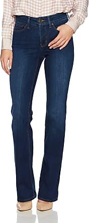 NYDJ Womens Barbara Bootcut Jeans, COOPER, 10