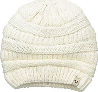 bffd3f94b09 True Religion Mens Chunky Ribbed Knit Beanie