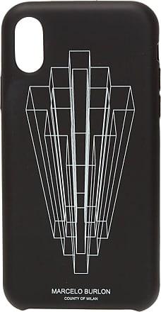 Marcelo Burlon IPhone X/XS Case Mens Black