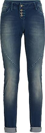 Bonprix Dam New boyfriend-jeans i svart - RAINBOW 417329a0635f8