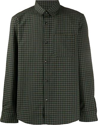 A.P.C. Camisa xadrez - Verde