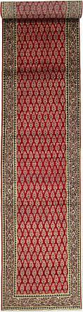 Nain Trading 579x94 Tappeto Orientale Tabriz Patina Corridore Marrone Scuro/Rosso (Lana, Persia/Iran, Annodato a mano)