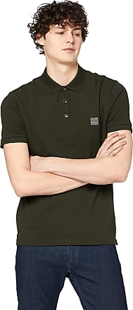 BOSS Mens Passenger Polo Shirt, Green (Open Green 346), Medium