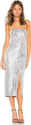Rachel Zoe Krista Dress in Metallic Silver