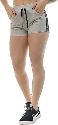 Shatark Shorts De Moletom Target - Cinza Claro (P)