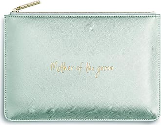 Katie Loxton Perfect Pouch - Mother of the Groom - Metallic Silver
