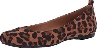 Jessica Simpson Womens Mickella Ballet Flat, Natural Leopard, 9 UK