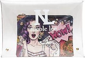 Nicole Lee Clutch MARLEY Transparente con Bolsa Interior<br>35.5 x 25.4 x 2.5 cm<br>Multicolor