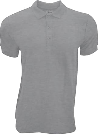 Gildan Gildan Mens Premium Cotton Sport Double Pique Polo Shirt (XL) (Dark Heather)