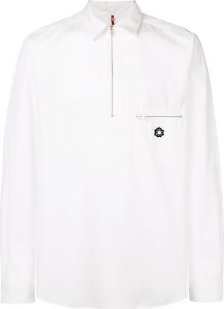 OAMC Camisa com zíper - Branco