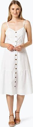 NA-KD Damen Kleid weiss