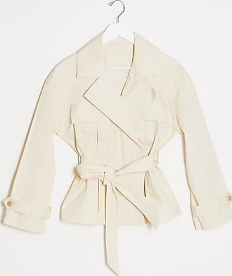 & Other Stories belted trench jacket in beige