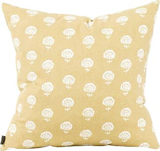 Elizabeth Austin Milan Dandelion Decorative Pillow White/Blue - 2-613