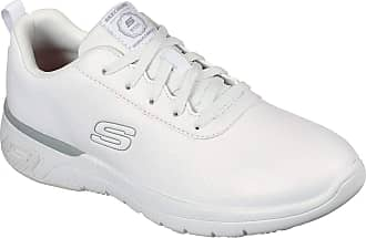 Women's White Skechers Shoes / Footwear