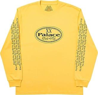 Palace Camiseta mangas longas Remy XO - Amarelo