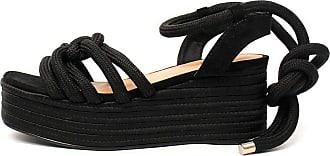 Damannu Shoes Sandália Thaila - Cor: Preto - Tamanho: 34
