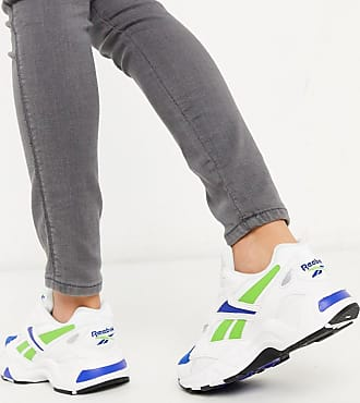 Reebok Reebok - Aztrek 96 - Sneakers color bianco e blu verde