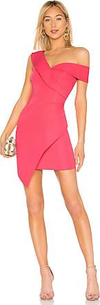 Bcbgmaxazria Asymmetrical Dress in Pink