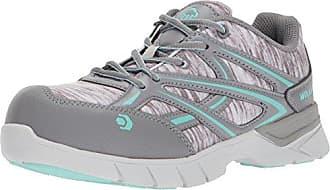 Wolverine Womens Jetstream Athletic Composite Toe Work Shoe, Grey/Blue, 6 M US