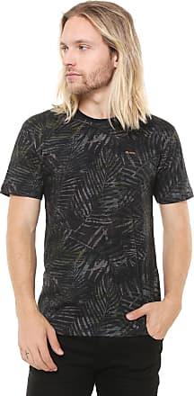 Reef Camiseta Reef Palm Night Verde