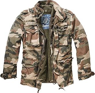 Brandit M65 Giant Mens Parka Jacket - Multicolour - XXX-Large