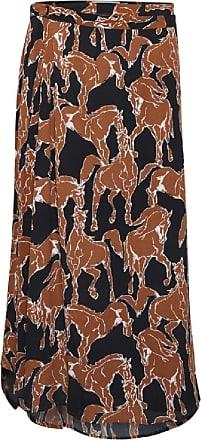Ichi Mokka Bisque Horse Print Rock - 36